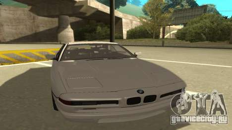 BMW 850CSi 1996 Stock version для GTA San Andreas вид слева
