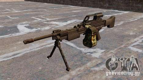 Ручной пулемёт HK MG4 для GTA 4