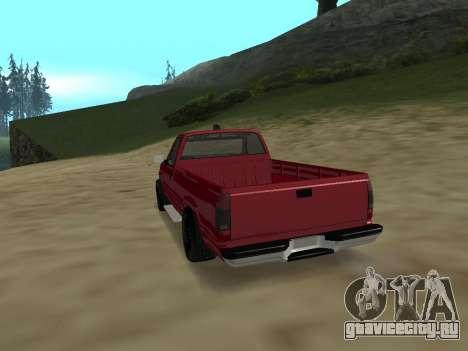Chevrolet Silverado ATTF для GTA San Andreas вид справа