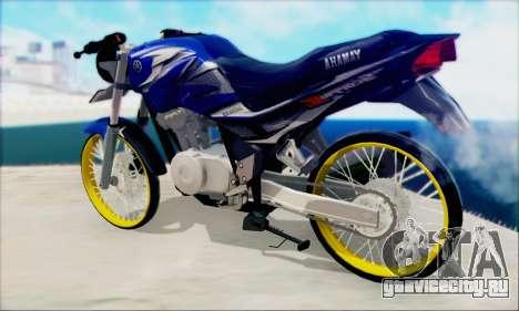 Yamaha 225R Scorpio Z для GTA San Andreas вид слева