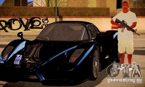 Franklin HD для GTA San Andreas третий скриншот