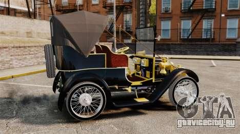 Раритетный автомобиль 1910г для GTA 4 вид слева