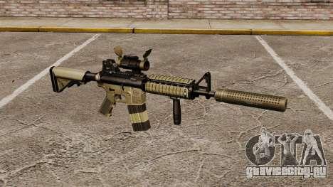 Автомат M4 с глушителем v1 для GTA 4