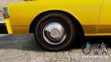 Chevrolet Caprice 1987 L.C.C. Taxi для GTA 4 вид сзади