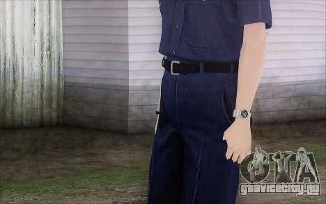GTA 5 Police Woman для GTA San Andreas третий скриншот