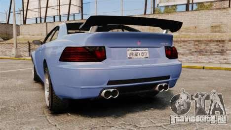 GTA V Zion XS Tuner для GTA 4 вид сзади слева