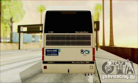 Mercedes-Benz O403 Tourismo для GTA San Andreas вид сзади слева