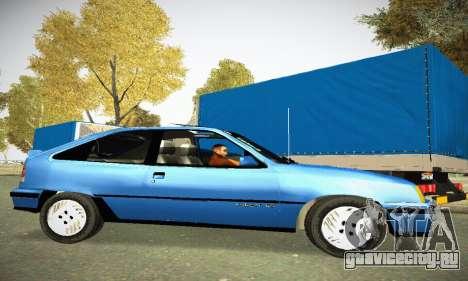 Chevrolet Kadett GS 2.0 для GTA San Andreas вид слева
