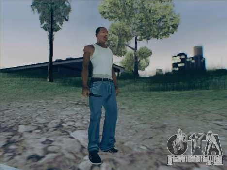 Battlefield 2142 Knife для GTA San Andreas четвёртый скриншот