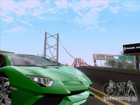 Lamborghini Aventador LP720-4 2013 для GTA San Andreas вид сверху