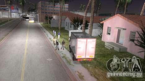 Mercedes Benz Atego для GTA Vice City вид справа