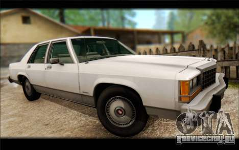 Ford LTD Crown Victoria 1987 для GTA San Andreas вид сзади