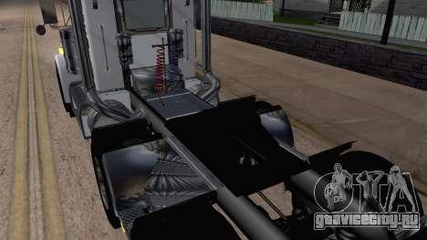 Peterbilt 379 Papa Clyde для GTA San Andreas вид сзади
