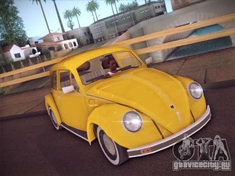 Volkswagen Käfer для GTA San Andreas вид слева