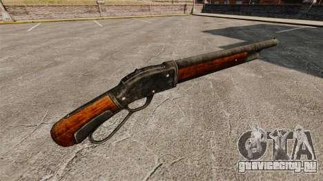 Ружьё Winchester Model 1887 v2.0 для GTA 4 второй скриншот