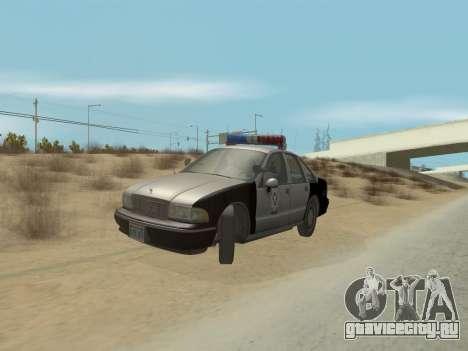 Chevrolet Caprice LVPD 1991 для GTA San Andreas