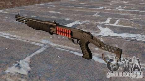 Ружьё Franchi SPAS-12 Armageddon v2.0 для GTA 4 второй скриншот