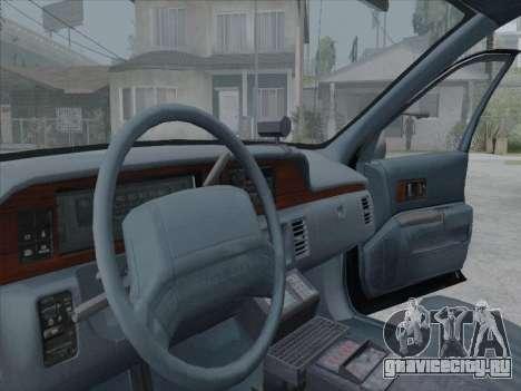 Chevrolet Caprice LVPD 1991 для GTA San Andreas вид слева