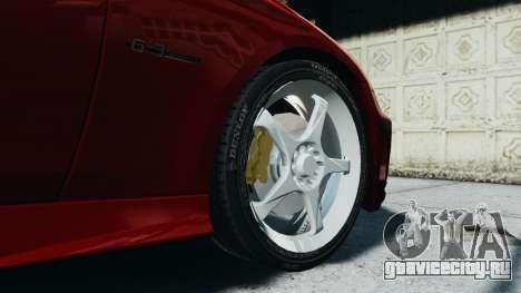 Mercedes-Benz CLS AMG для GTA 4 вид сзади