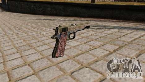 Пистолет Colt M1911A1 для GTA 4 второй скриншот
