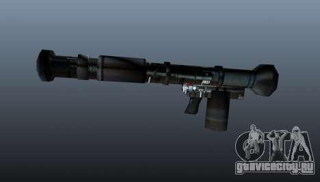 Ручной противотанковый гранатомёт для GTA 4 третий скриншот