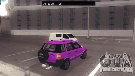 Ford EcoSport V2 для GTA San Andreas вид справа