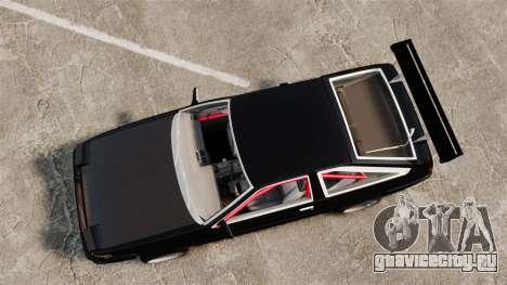 Toyota Sprinter Trueno AE86 Drifting для GTA 4 вид справа