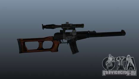 Снайперская винтовка Винторез для GTA 4 третий скриншот