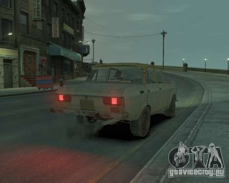 АЗЛК 2140 S.T.A.L.K.E.R для GTA 4 вид слева
