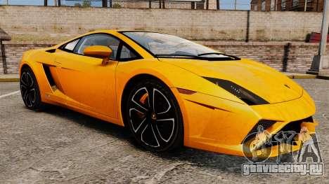 Lamborghini Gallardo 2013 для GTA 4 вид сбоку