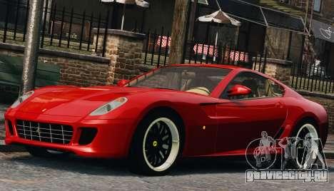 Ferrari 599 GTB Hamann 2006 для GTA 4 вид сбоку