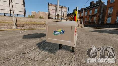 Новые текстуры хот-дог тележек для GTA 4 третий скриншот