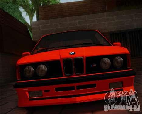 BMW E24 M635 1984 для GTA San Andreas вид сбоку