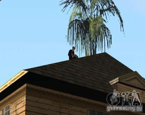 Охрана дома CJ для GTA San Andreas
