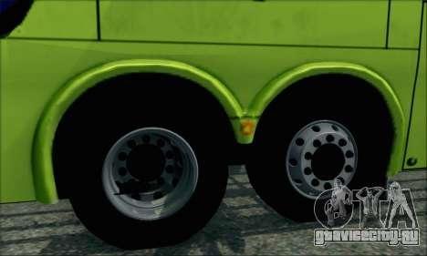 Marcopolo Paradiso G6 Tur-Bus для GTA San Andreas вид сзади слева