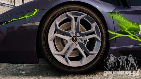 Lamborghini Aventador LP700-4 2012 [EPM] для GTA 4 вид справа