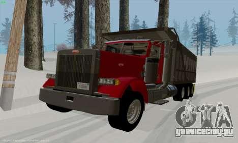 Peterbilt 379 Dump Truck для GTA San Andreas