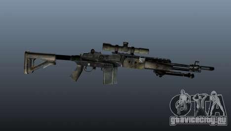 Снайперская винтовка M21 Mk14 v4 для GTA 4 третий скриншот