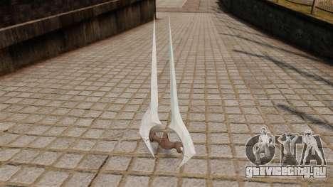 Энергетический меч Halo для GTA 4 второй скриншот