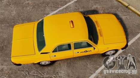 ГАЗ-31029 такси для GTA 4 вид справа