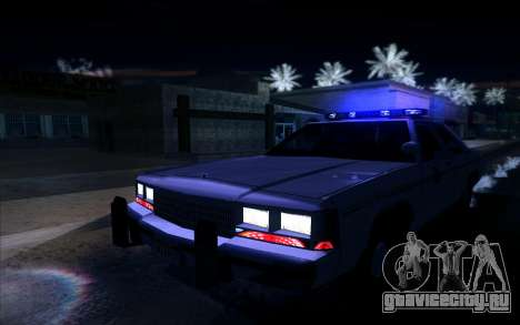 Police North Yankton для GTA San Andreas вид сзади