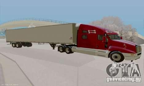 Kenworth T2000 v2.9 для GTA San Andreas вид слева