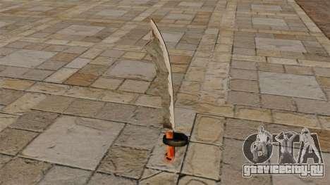 Двуручный меч для GTA 4