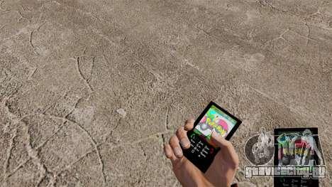 Тема для телефона Pokemon для GTA 4