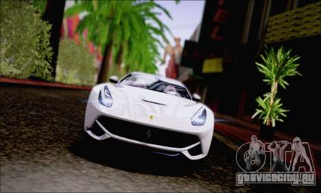 Ferrari F12 Berlinetta Horizon Wheels для GTA San Andreas