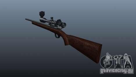 Спортивное снайперское ружьё Winchester Model 70 для GTA 4 второй скриншот
