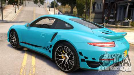 Porsche 911 Turbo 2014 [EPM] для GTA 4 вид слева