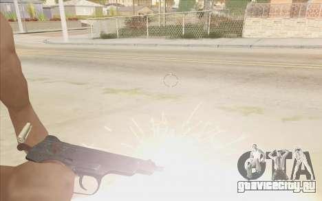 Beretta M9 v2 для GTA San Andreas второй скриншот