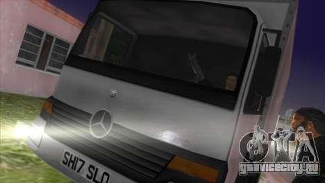 Mercedes Benz Atego для GTA Vice City вид слева