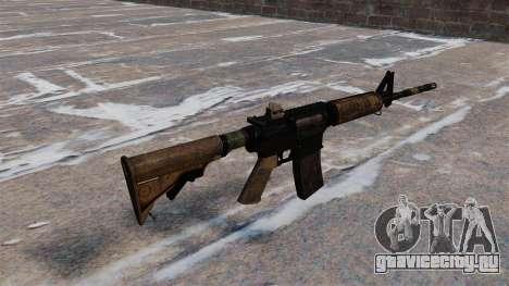 Автоматический карабин M4 для GTA 4 второй скриншот